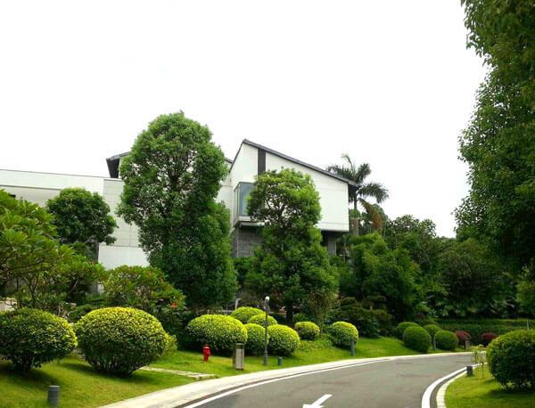 东莞阳明山花园园林景观工程