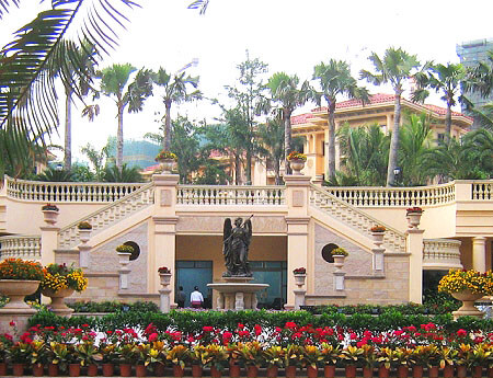 深圳布吉龙园意境景观工程