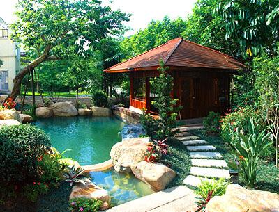 别墅景观绿化工程
