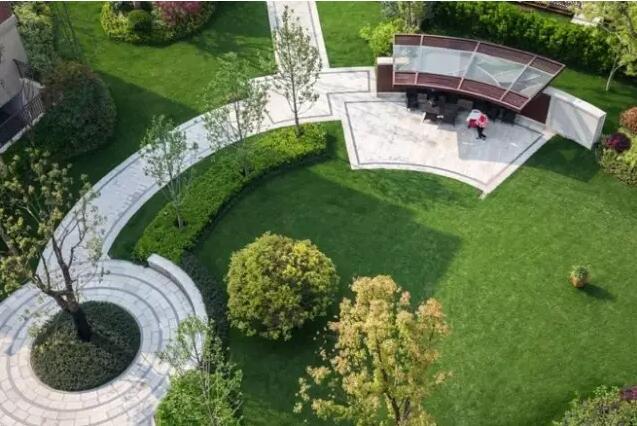 东莞俊景花园绿化工程